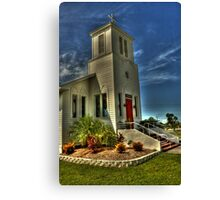 Everglades Community Church Canvas Print
