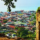 A View of Roseau by photorolandi
