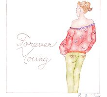 Forever Young by Evawatercolours