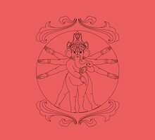 Lord Ganesh by Jacqui Fae