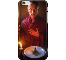 Lay a space at your table iPhone Case/Skin