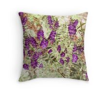 Hebe Lavender Throw Pillow