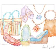 Summer Holidays by Evawatercolours