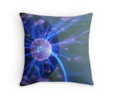 """electrical storm"" Throw Pillow"