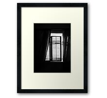 Remember Your Visits and Our Old House in Tacoma Washington Framed Print