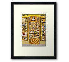 Shakespeare and Co Bookstore, Paris Framed Print