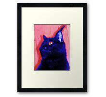 Gepetto the Cat Godzilla Framed Print