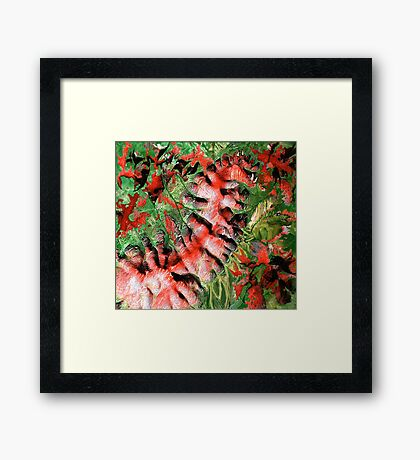 """Dragon Hills"" Framed Print"