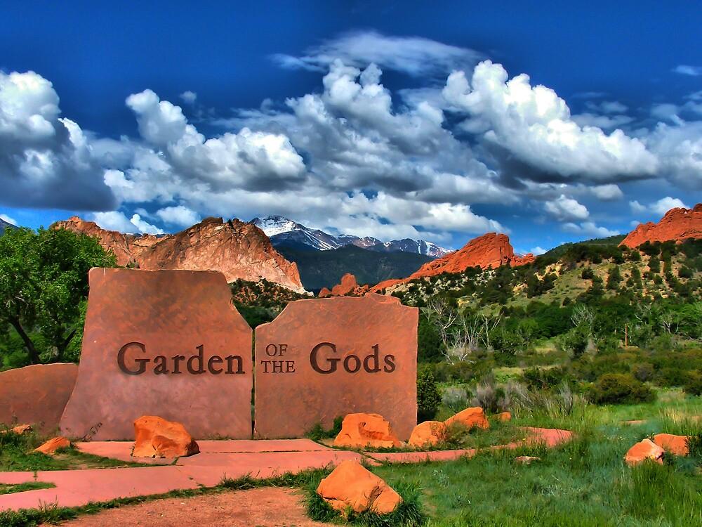 Garden of the Gods and Pikes Peak by Gregory Ballos   gregoryballosphoto.com