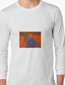 ghosts water, art by j.c., creator of the rock people, Long Sleeve T-Shirt