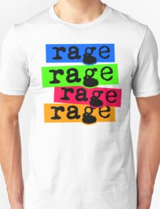 Colourful Rage T-Shirt