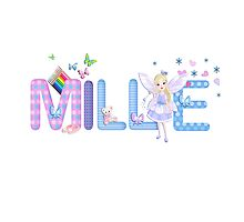 MILLIE / personalised name illustration by FSImages