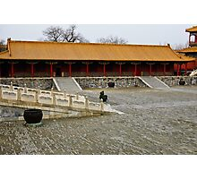 Solitude in the Forbidden City Photographic Print