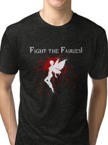 Supernatural Fight the Fairies v2.0 Tri-blend T-Shirt