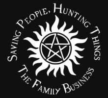 Supernatural Family Business v2.0 One Piece - Short Sleeve