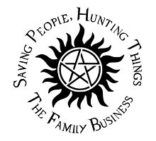 Supernatural Family Business by obsidiandream