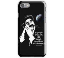 groucho iPhone Case/Skin