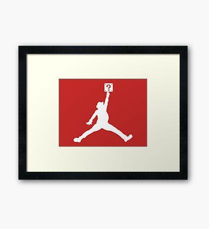Jumpman '81 Framed Print