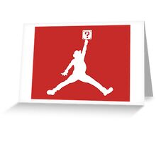 Jumpman '81 Greeting Card