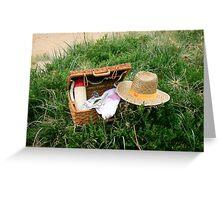 Picnic on Morninton Beach Greeting Card