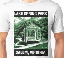 Lake Spring Park, Salem, VA Unisex T-Shirt