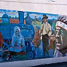 Train Mural / last view by Tim Denny