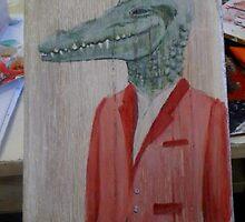 man-gator by Jaimee Fryer