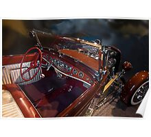 Norm Wallace 32 Roadster Poster