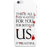 It's Beautiful, Hannibal iPhone Case/Skin