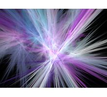 Speed of Light Fractal Photographic Print