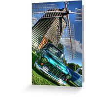 Bridgehampton Car Show Greeting Card