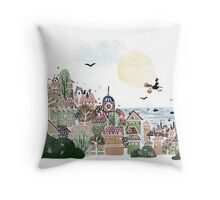 Just Another Delivery Throw Pillow