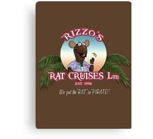 Rizzo's Rat Cruises Ltd Canvas Print