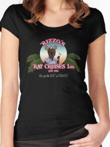Rizzo's Rat Cruises Ltd Women's Fitted Scoop T-Shirt