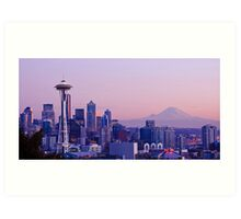 Good evening, Seattle! Art Print