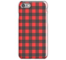 Red/Black Flannel iPhone Case/Skin