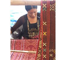 Weave Photographic Print
