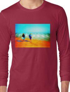 Grannies at the beach Long Sleeve T-Shirt