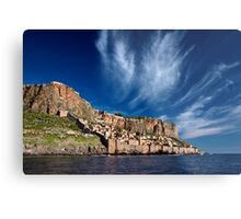 The medieval castletown of Monemvasia Metal Print