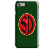 Strontium Dog Badge iPhone Case/Skin