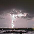 """Lake  """"O"""" lightning by Larry  Grayam"""