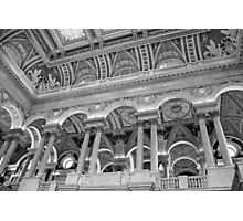 Library of Congress Ceiling Photographic Print