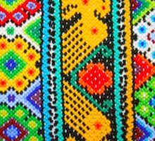 Colourful Mexican Bracelets  Sticker