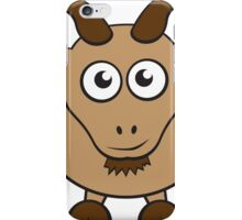Grover The Goat in Brown iPhone Case/Skin