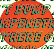 impenetrable - sticker Sticker