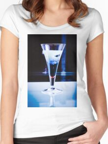 Glass-003 Women's Fitted Scoop T-Shirt