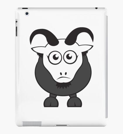 Grover The Goat in Grey iPad Case/Skin