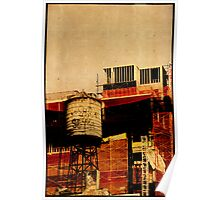 New York water tower Poster