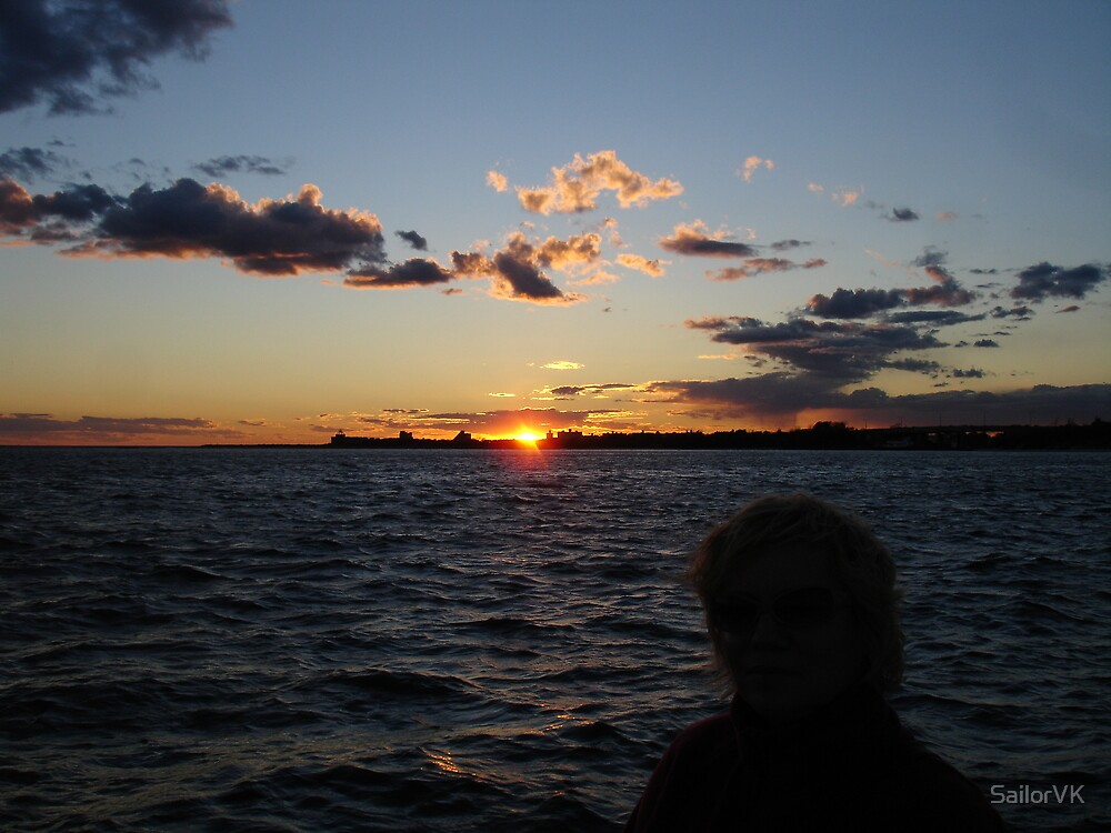 Sunset at Gateway Marina, Brooklyn, New York, Sheepsheadbay by SailorVK