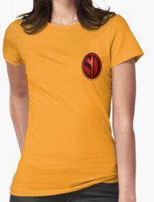 Search/Destroy Agency Badge Womens Fitted T-Shirt
